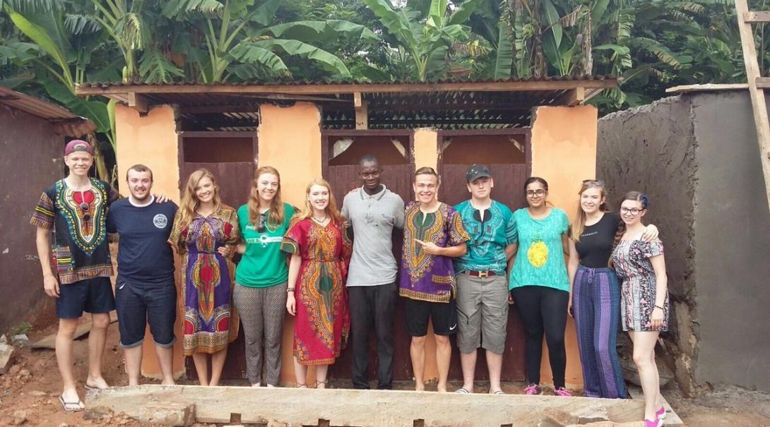 Catherine H in Ghana